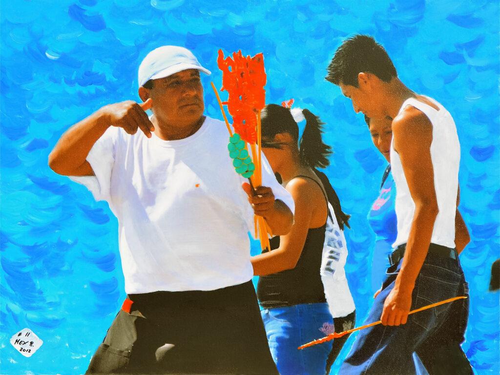 El Vendedor - Puerto Vallarta - Mexico 2012 - Pintado 2012