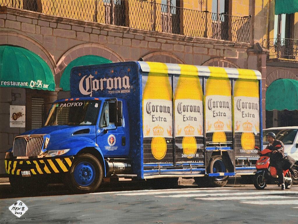 El Camion - Morelia - Mexico 2012 - Pintado 2012