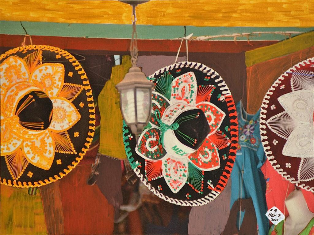 El Sombrero - Puerto Vallarta - Mexico 2012 - Pintado 2014