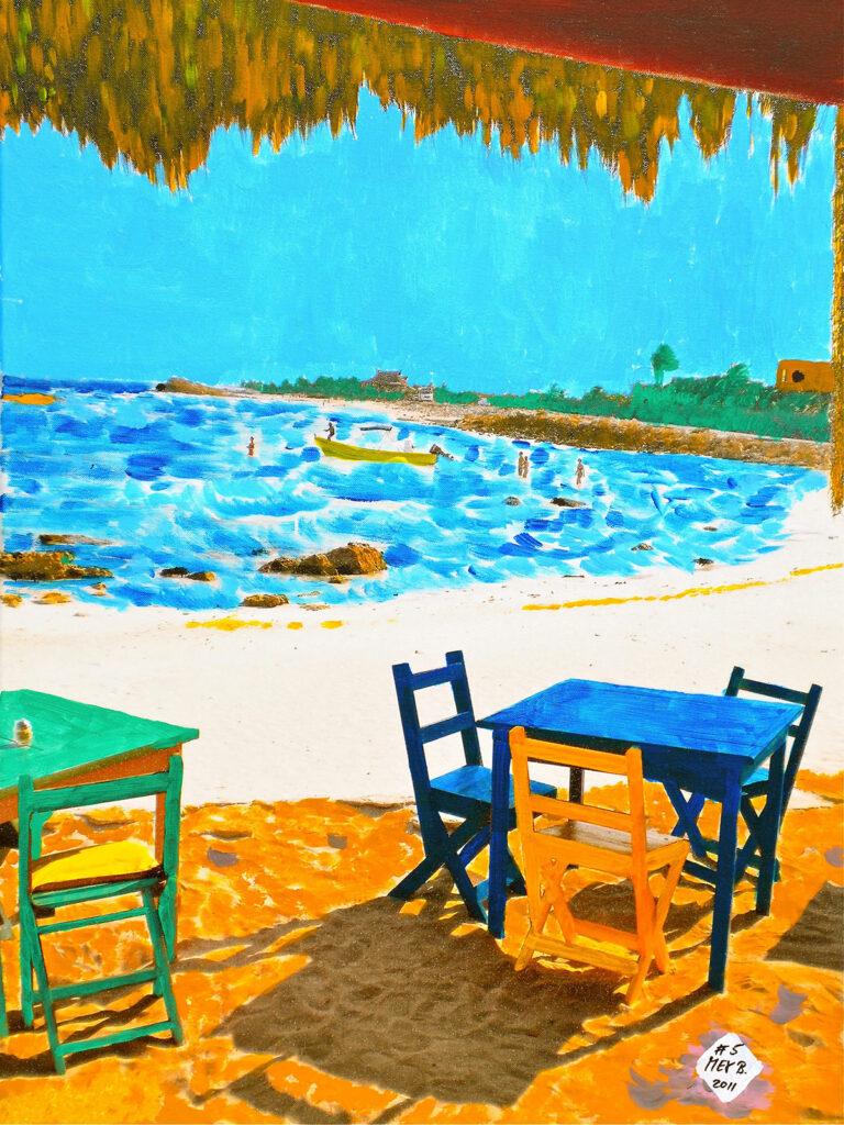 Playa de Tulum - Mexico 2010 - Pintado 2011