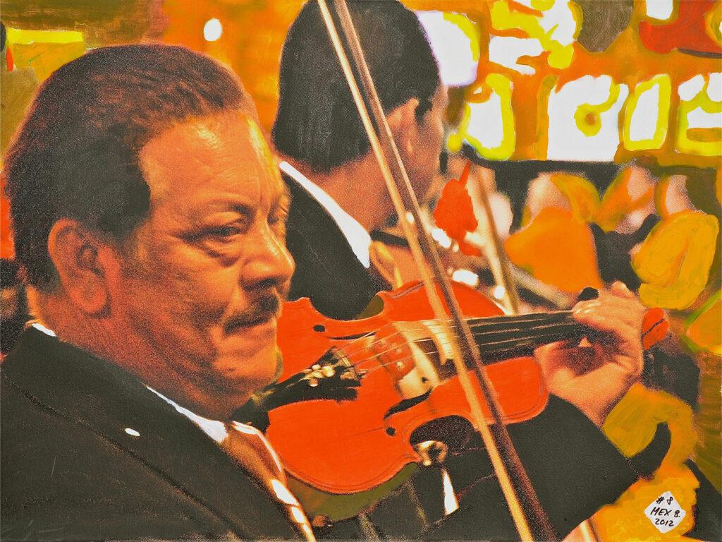 El Mariachi - Ensenada - Mexico 2005 - Pintado 2012