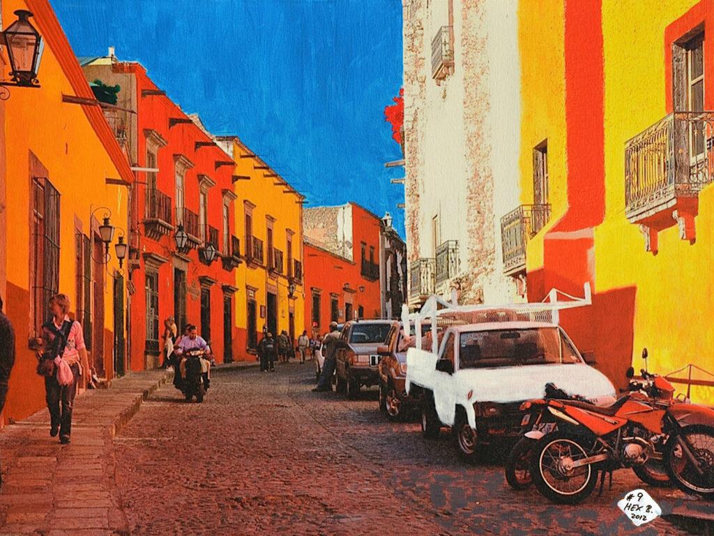 San Miguel de Allende - Mexico 2009 - Pintado 2012